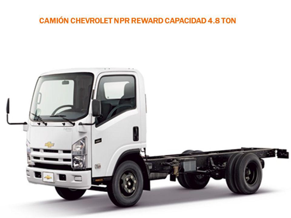 Camión Chevrolet NPR Reward capacidad 4.8 ton
