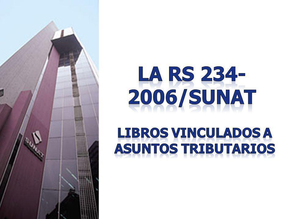 LIBROS VINCULADOS A ASUNTOS TRIBUTARIOS