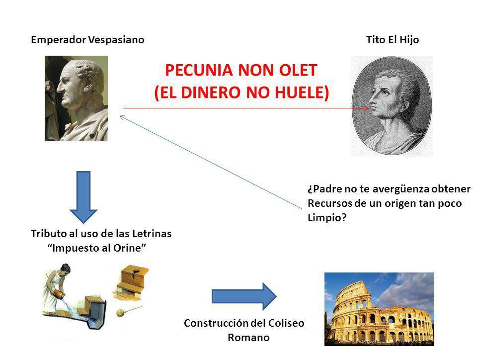 (EL DINERO NO HUELE) Emperador Vespasiano Tito El Hijo