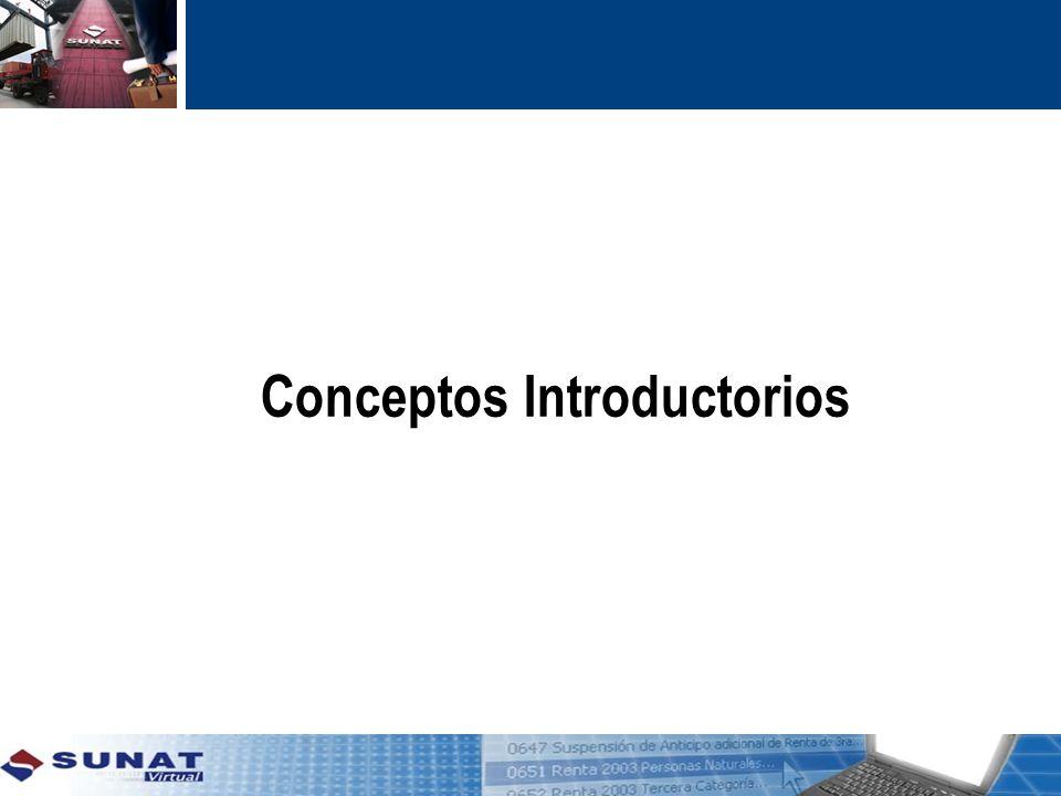 Conceptos Introductorios