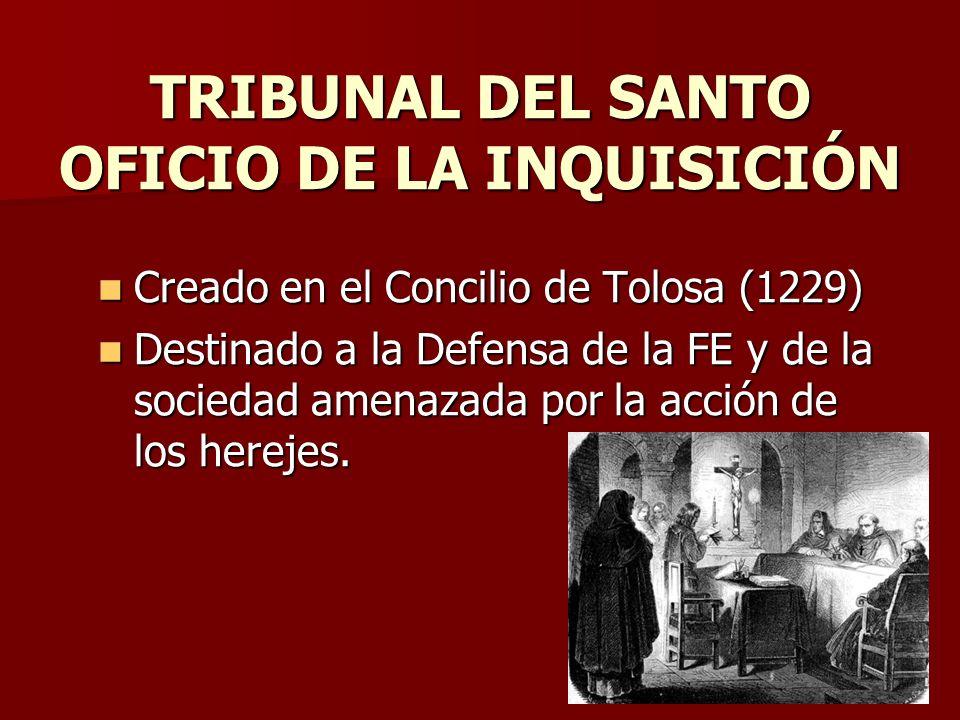 TRIBUNAL DEL SANTO OFICIO DE LA INQUISICIÓN