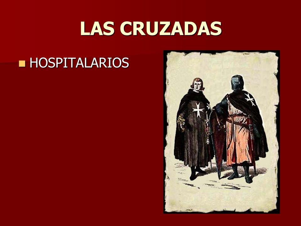 LAS CRUZADAS HOSPITALARIOS