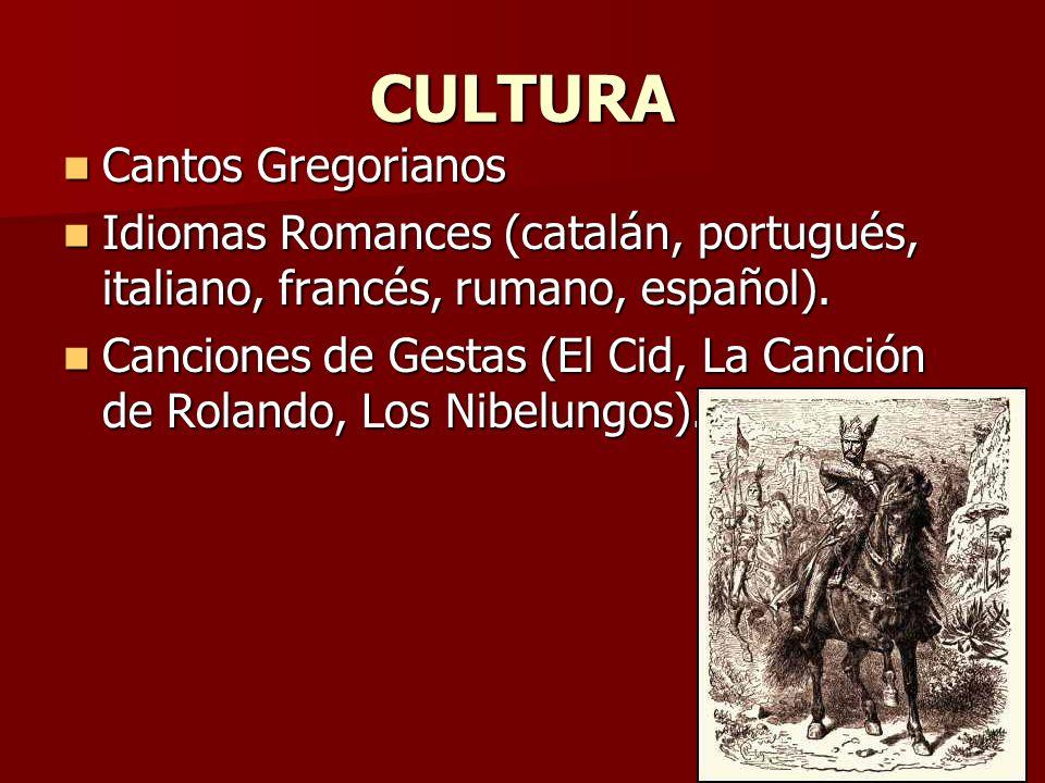 CULTURA Cantos Gregorianos
