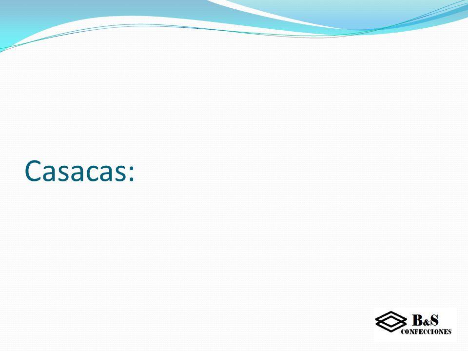 Casacas: