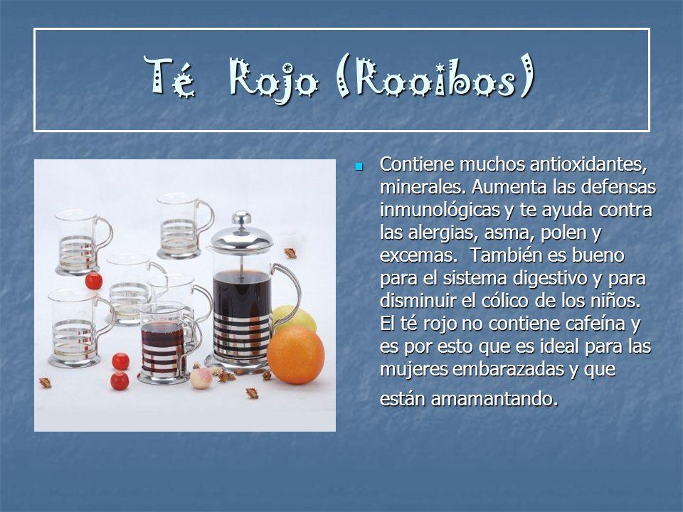 Té Rojo (Rooibos)