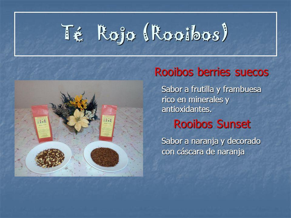 Té Rojo (Rooibos) Rooibos berries suecos