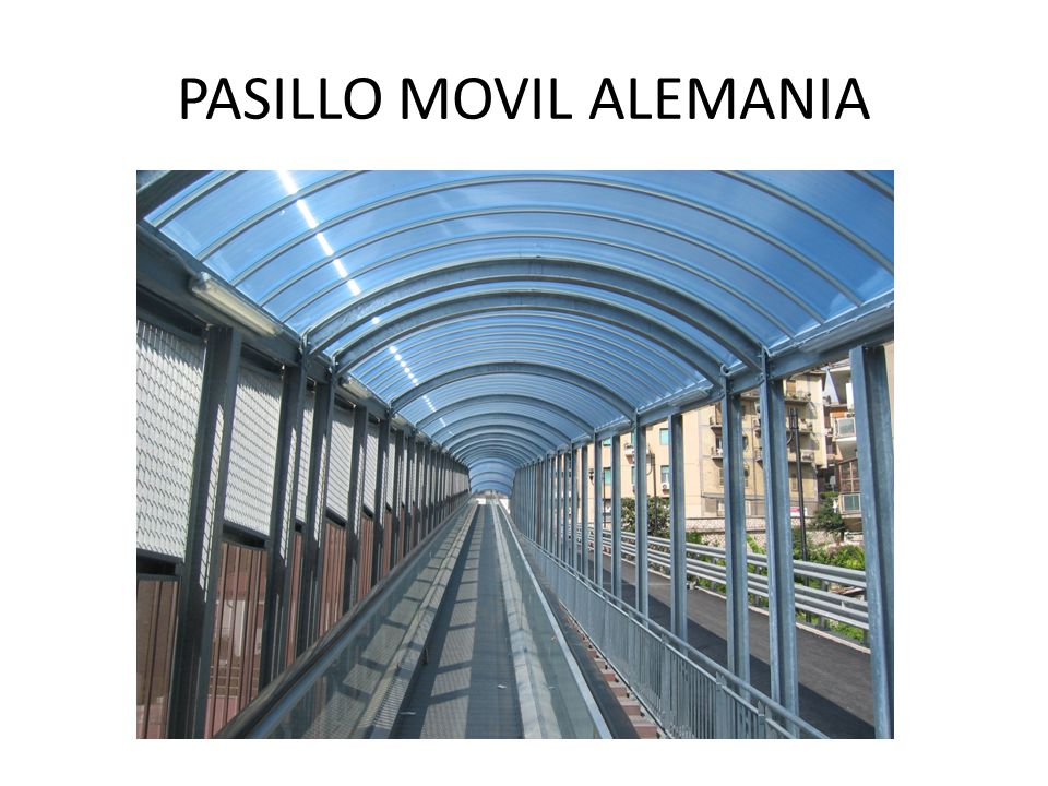 PASILLO MOVIL ALEMANIA