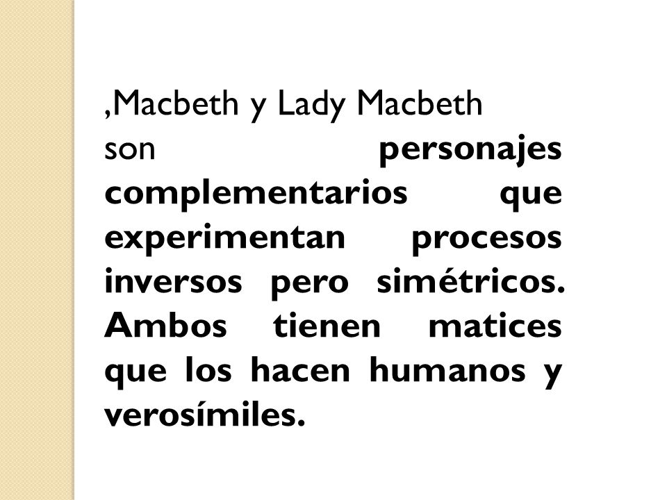 ,Macbeth y Lady Macbeth