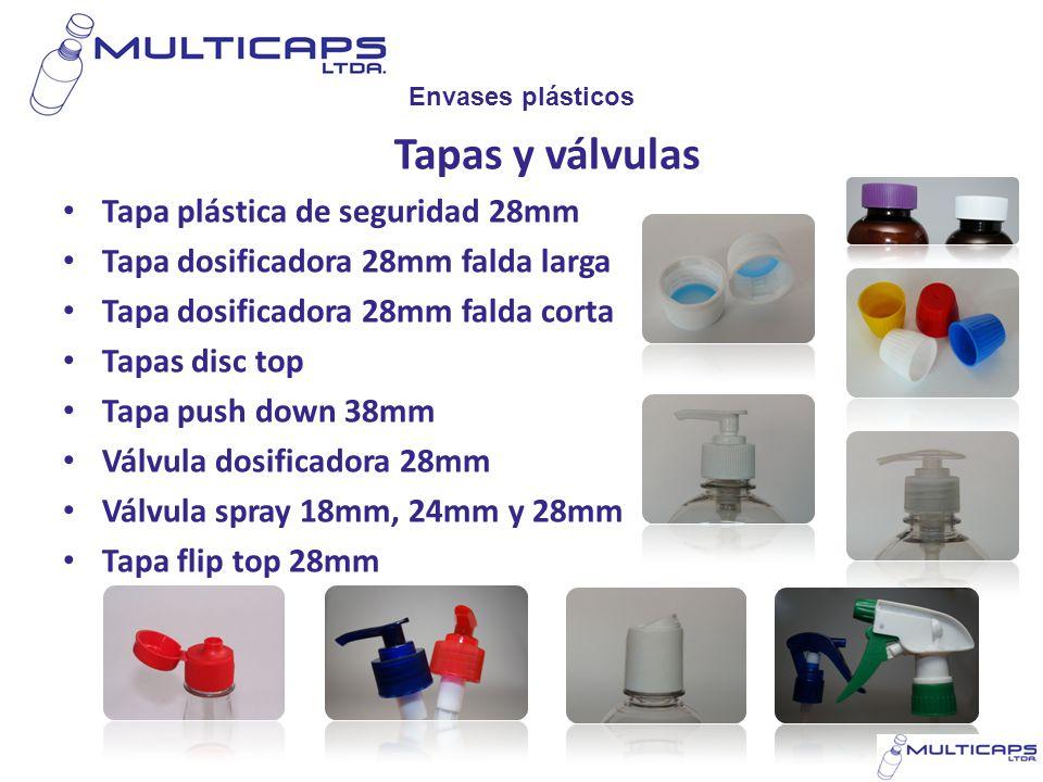 Tapas y válvulas Tapa plástica de seguridad 28mm