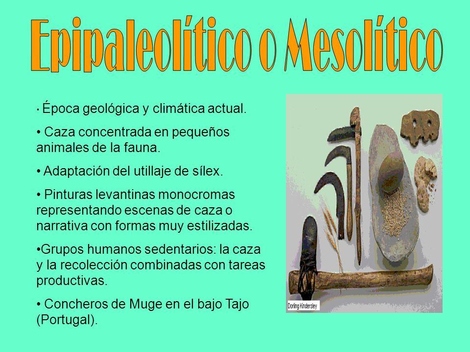 Epipaleolítico o Mesolítico