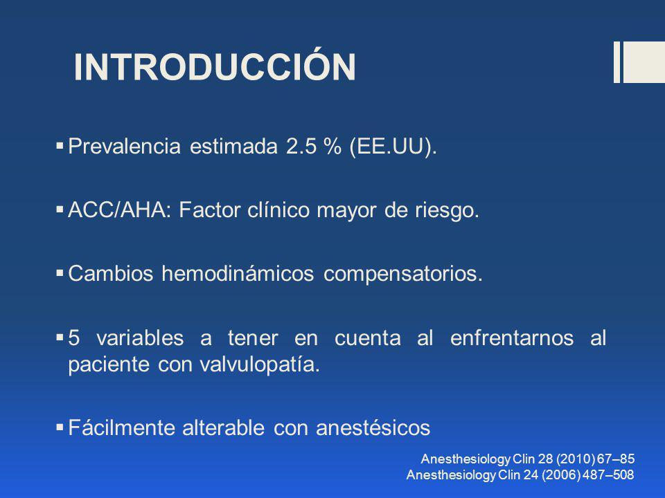 INTRODUCCIÓN Prevalencia estimada 2.5 % (EE.UU).