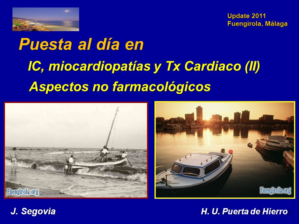 IC, miocardiopatías y Tx Cardiaco (II)