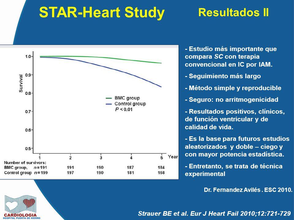 STAR-Heart Study Resultados II