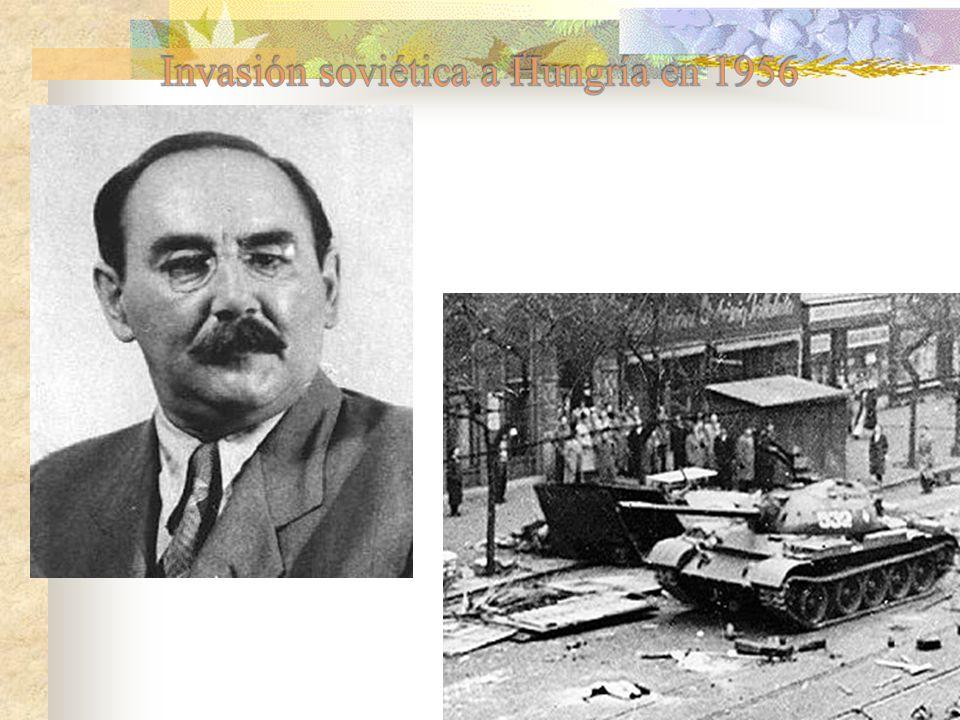 Invasión soviética a Hungría en 1956