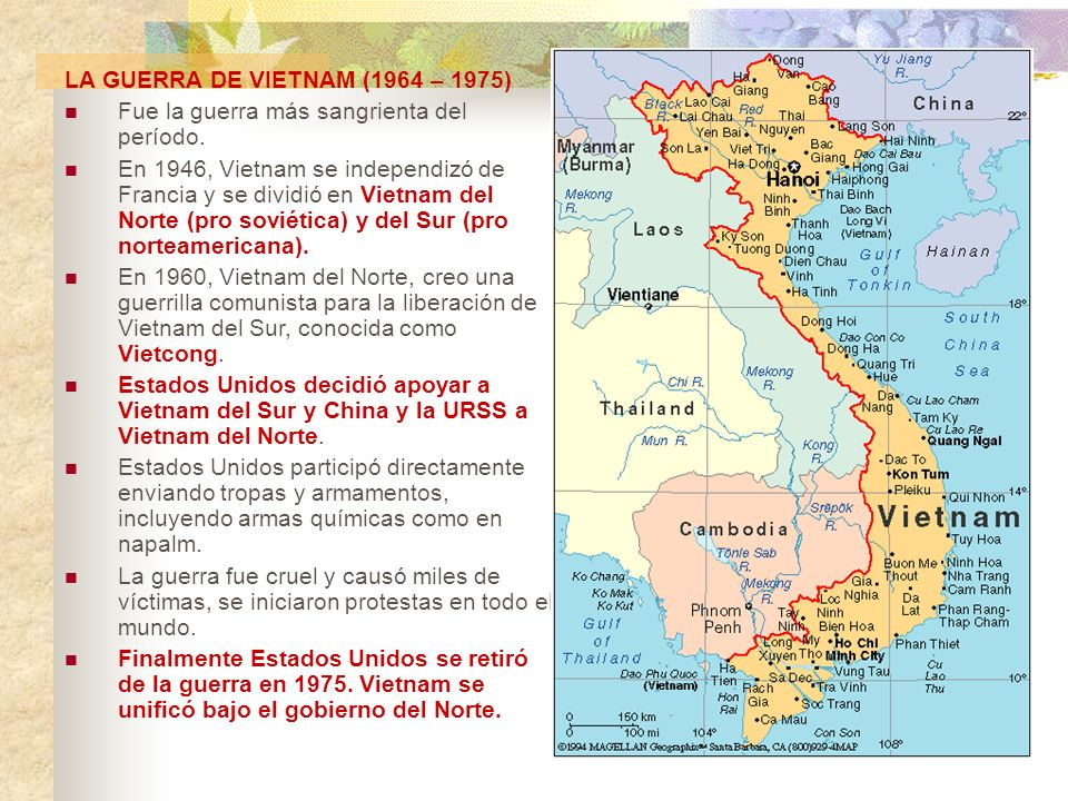 LA GUERRA DE VIETNAM (1964 – 1975)
