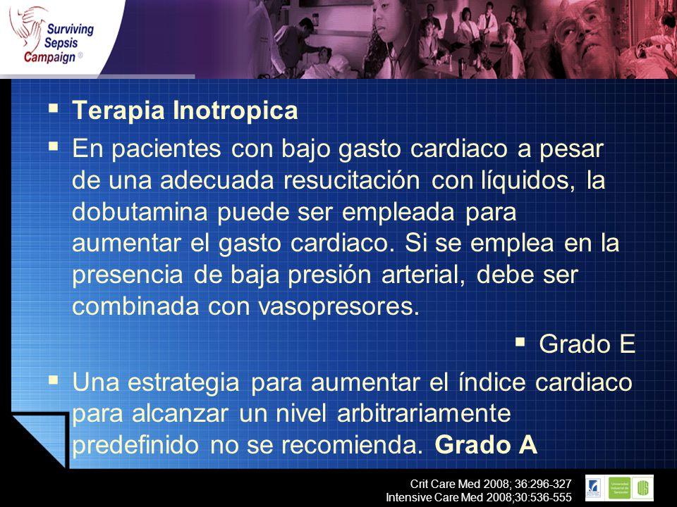 Terapia Inotropica