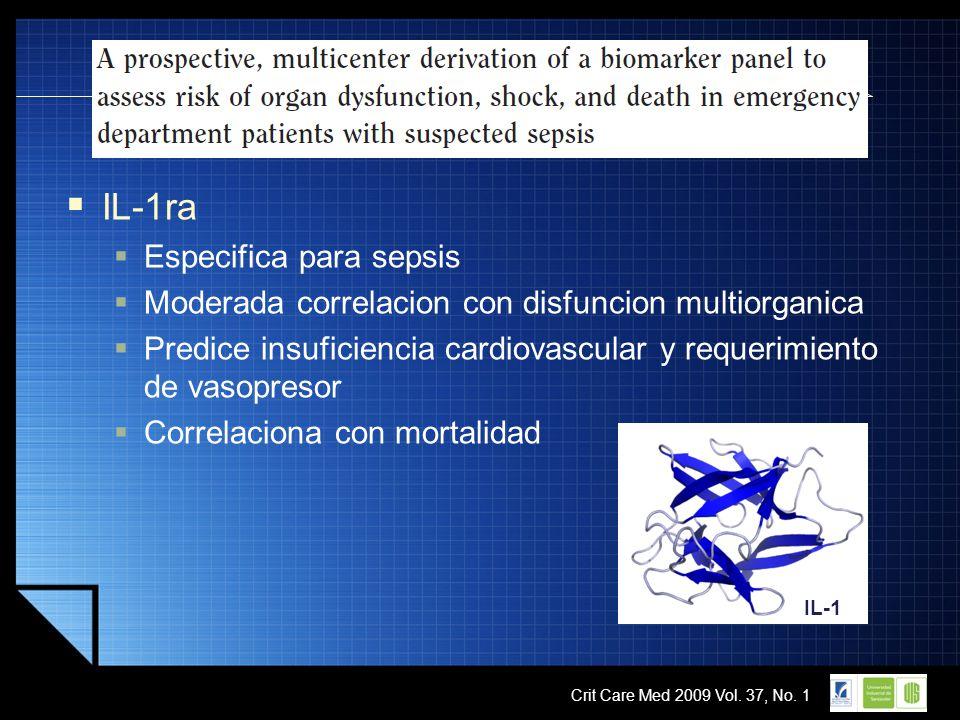IL-1ra Especifica para sepsis
