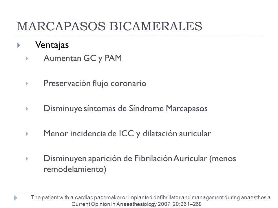 MARCAPASOS BICAMERALES