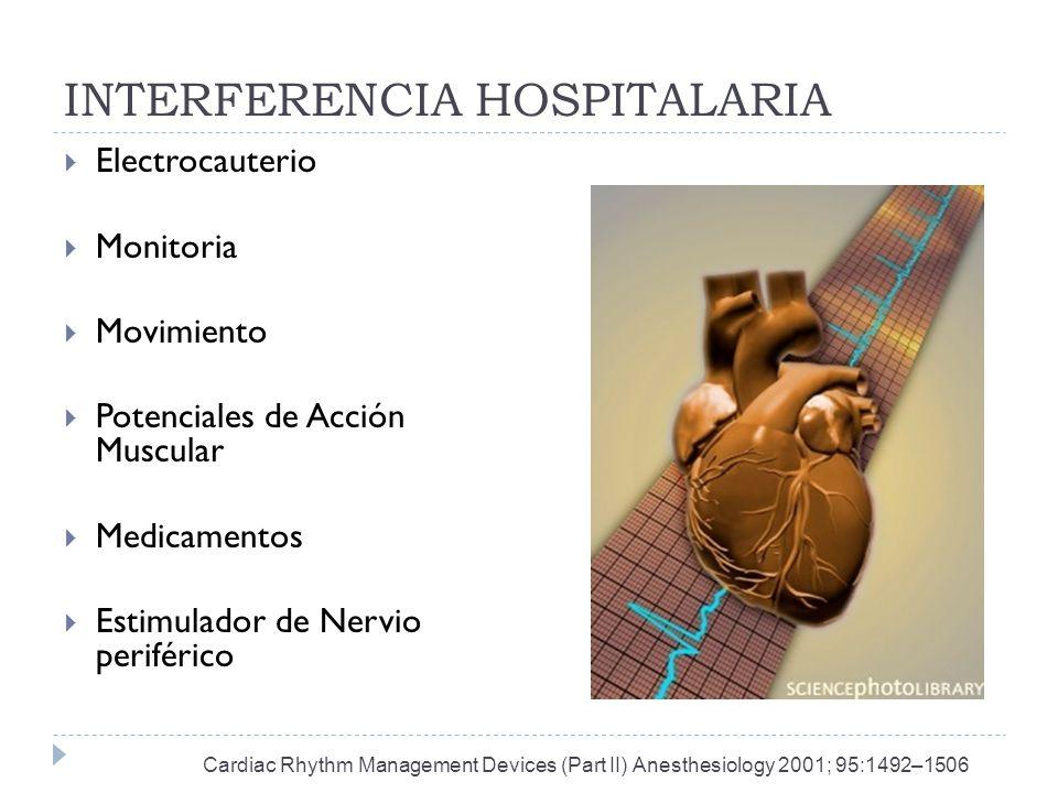 INTERFERENCIA HOSPITALARIA