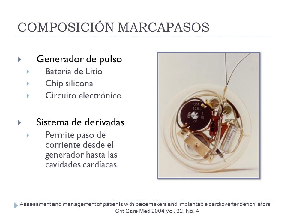 COMPOSICIÓN MARCAPASOS