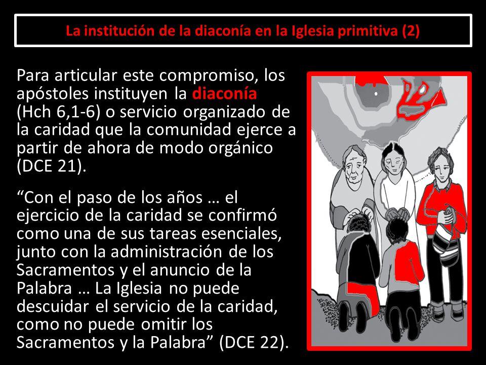 La institución de la diaconía en la Iglesia primitiva (2)