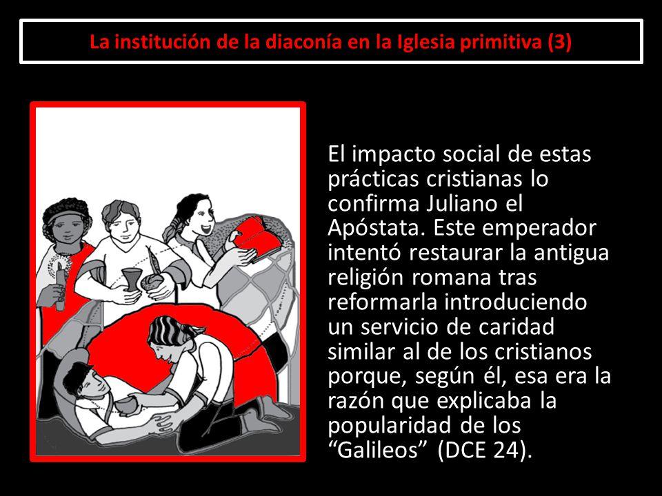 La institución de la diaconía en la Iglesia primitiva (3)