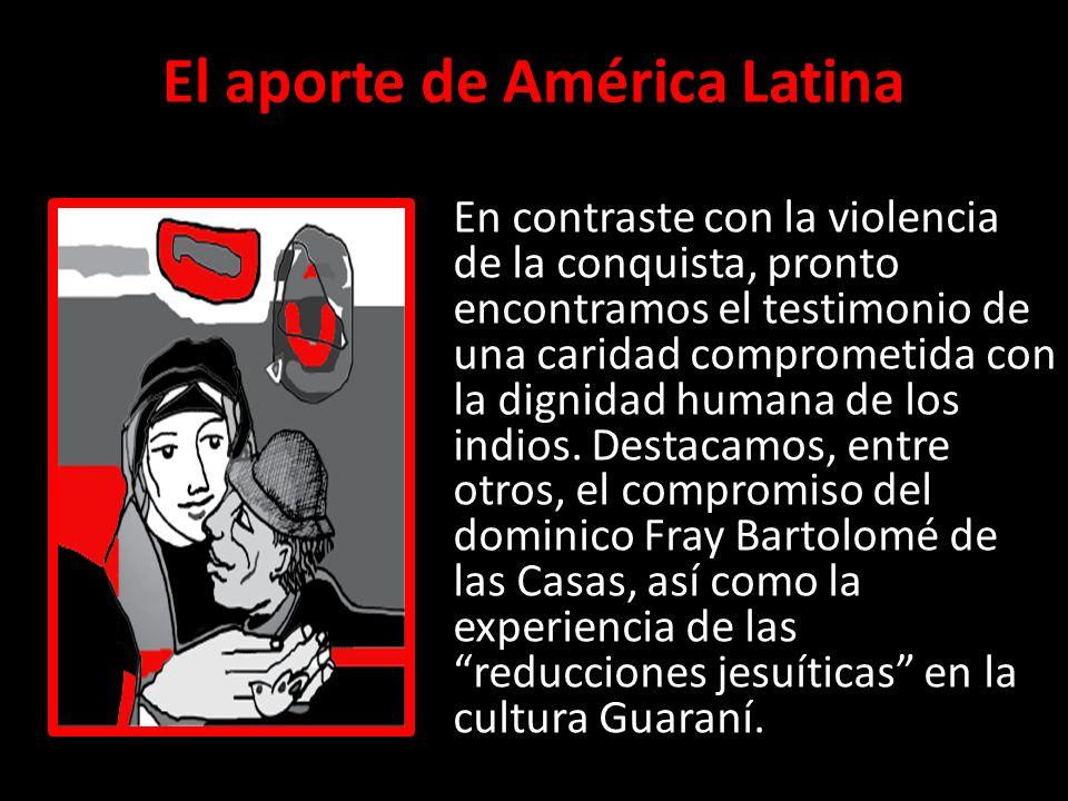 El aporte de América Latina