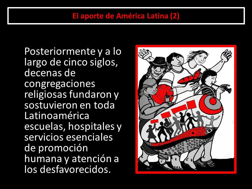 El aporte de América Latina (2)