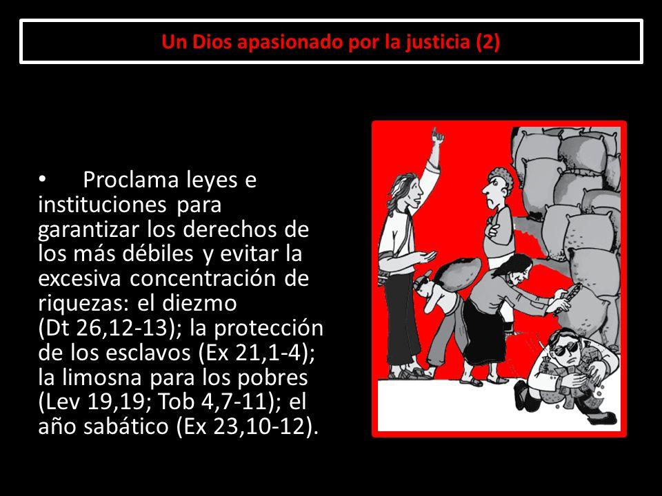 Un Dios apasionado por la justicia (2)