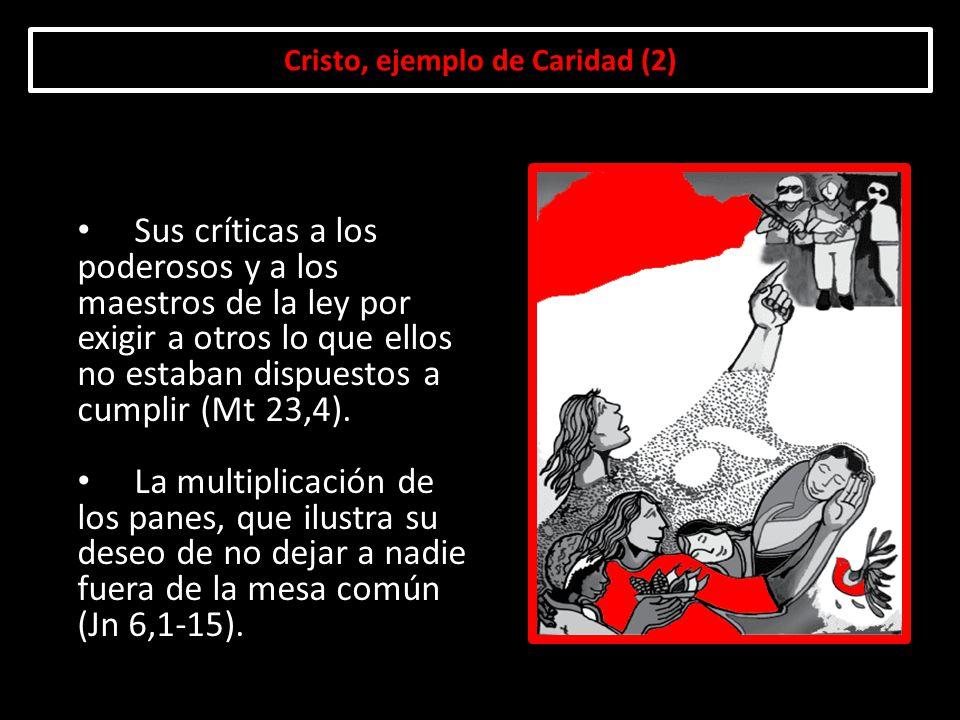 Cristo, ejemplo de Caridad (2)
