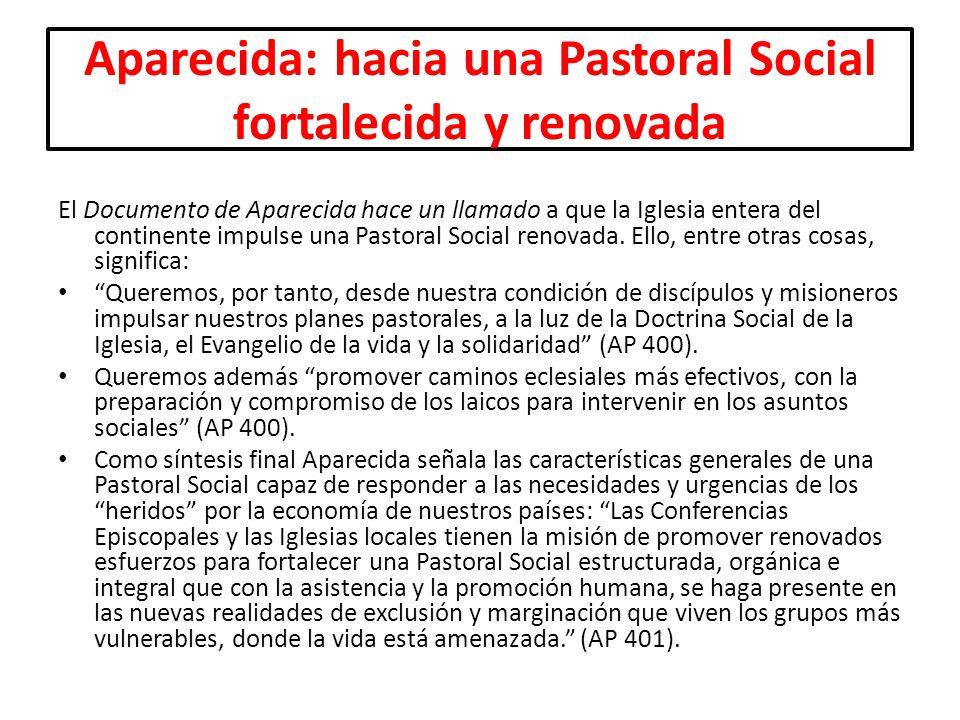 Aparecida: hacia una Pastoral Social fortalecida y renovada