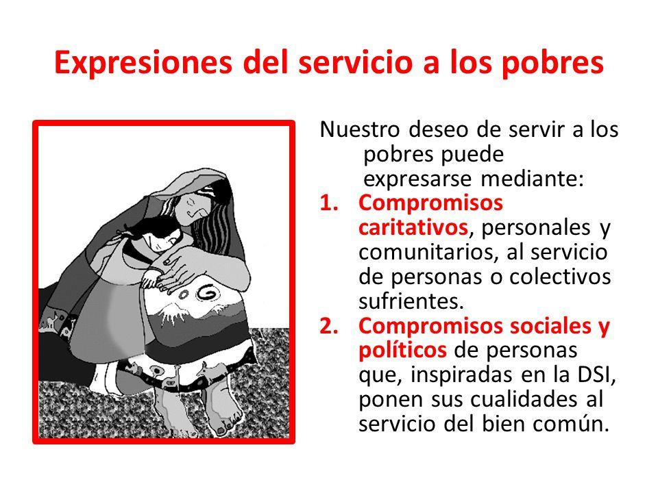 Expresiones del servicio a los pobres