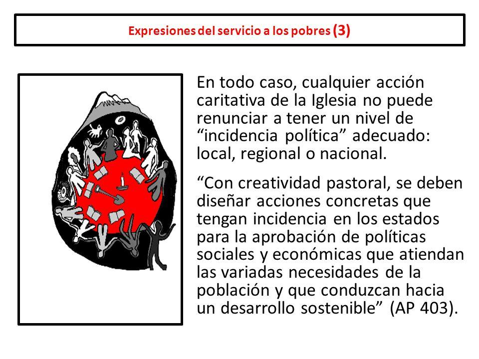 Expresiones del servicio a los pobres (3)