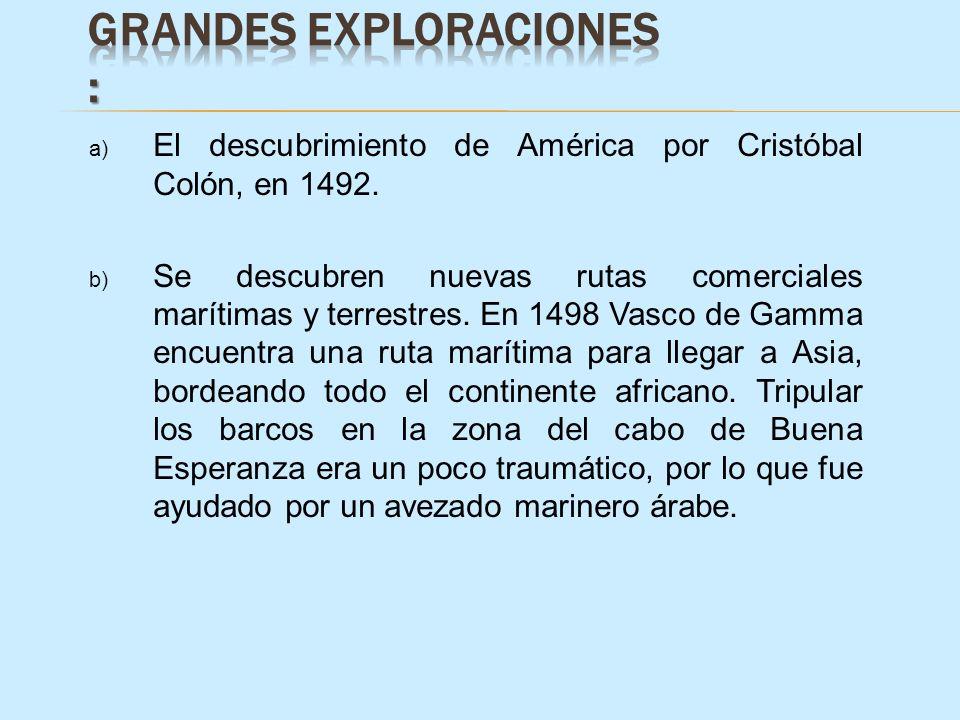 Grandes Exploraciones :