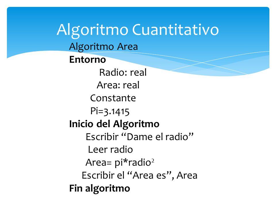 Algoritmo Cuantitativo