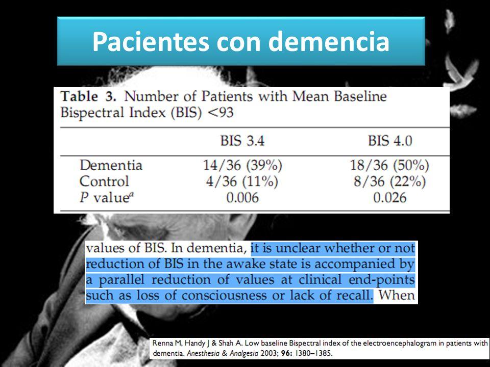 Pacientes con demencia