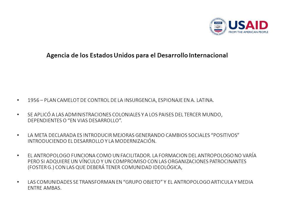 Agencia de los Estados Unidos para el Desarrollo Internacional