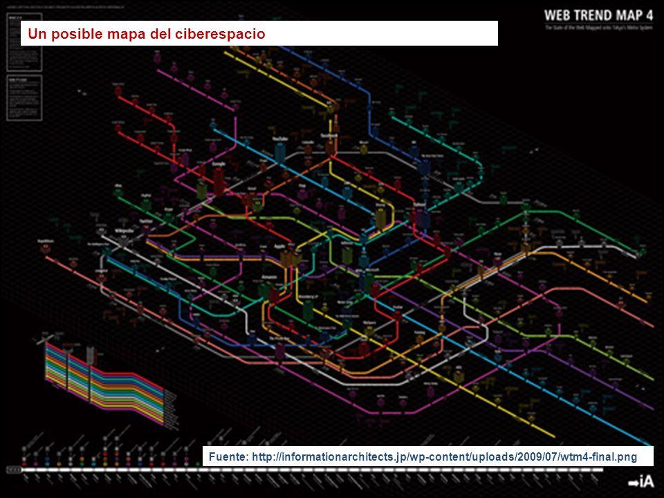 Un posible mapa del ciberespacio