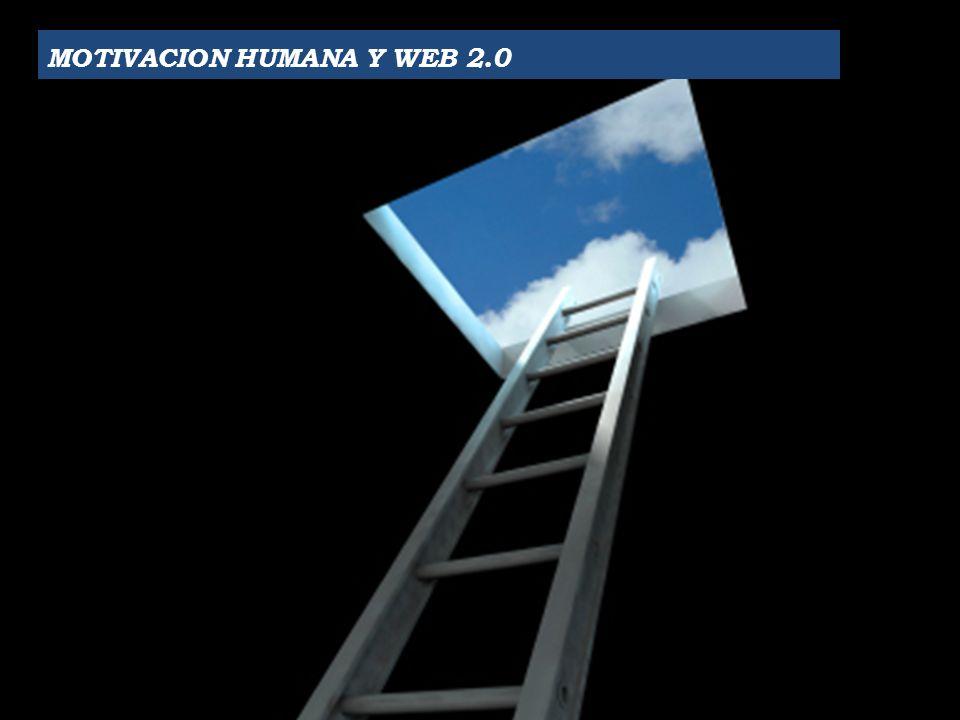 MOTIVACION HUMANA Y WEB 2.0