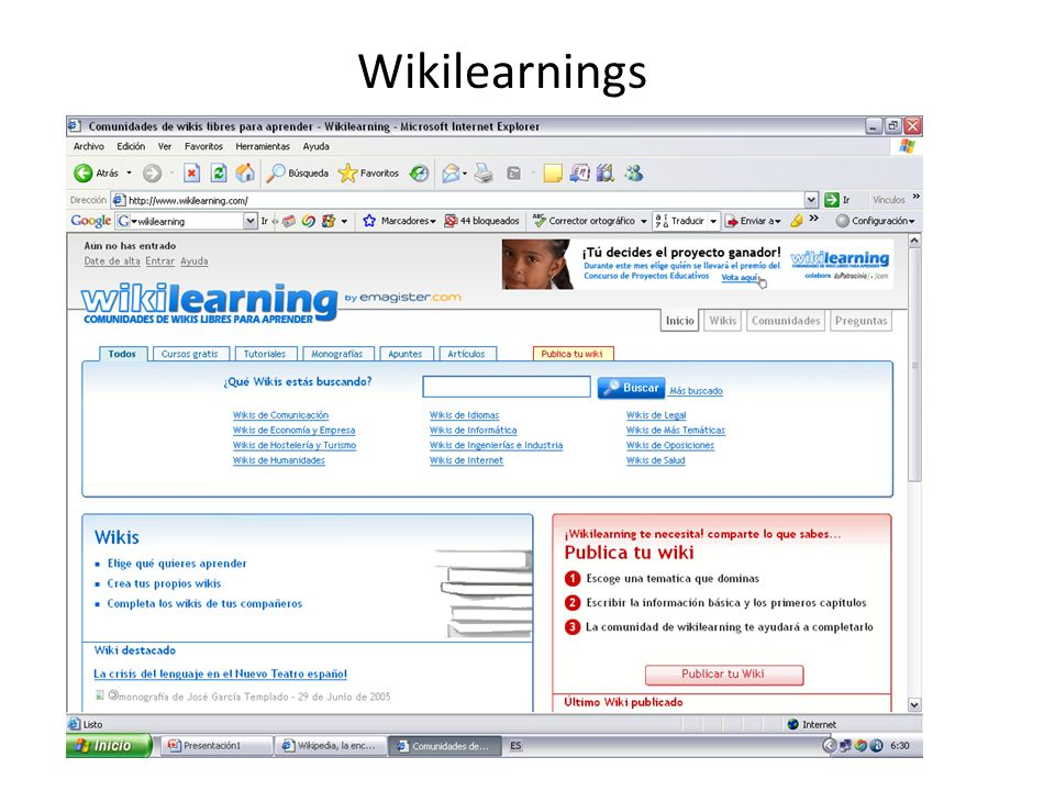 Wikilearnings