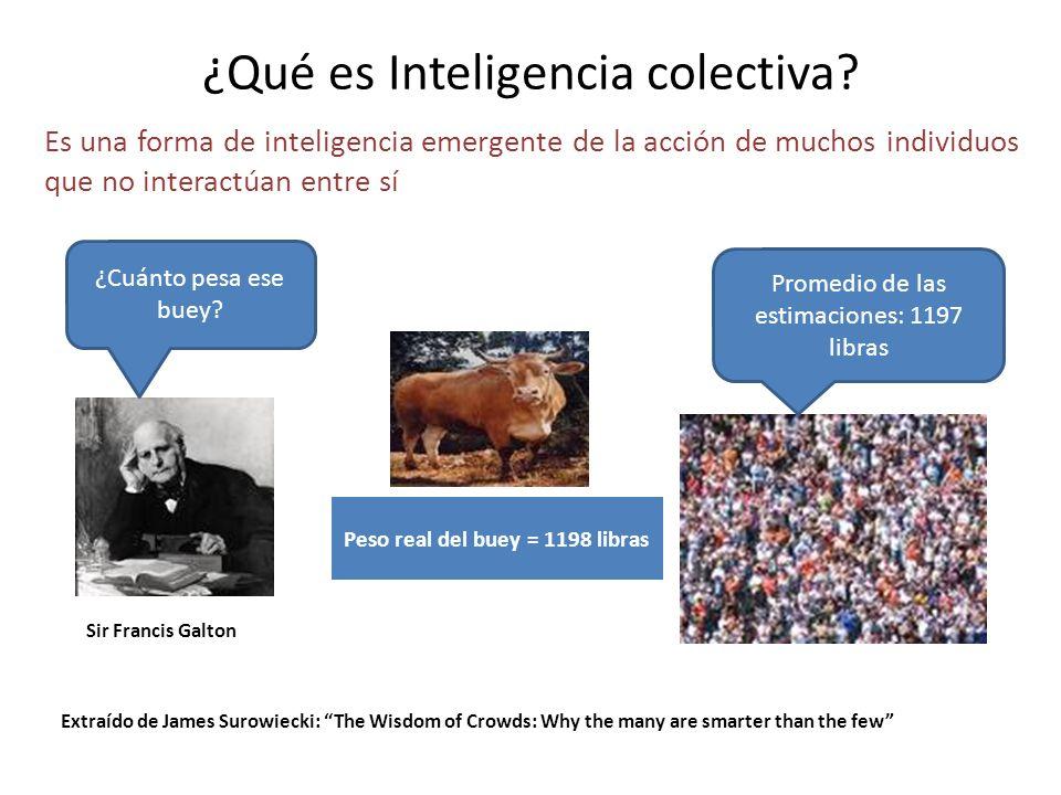 ¿Qué es Inteligencia colectiva