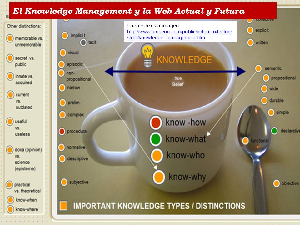 El Knowledge Management y la Web Actual y Futura