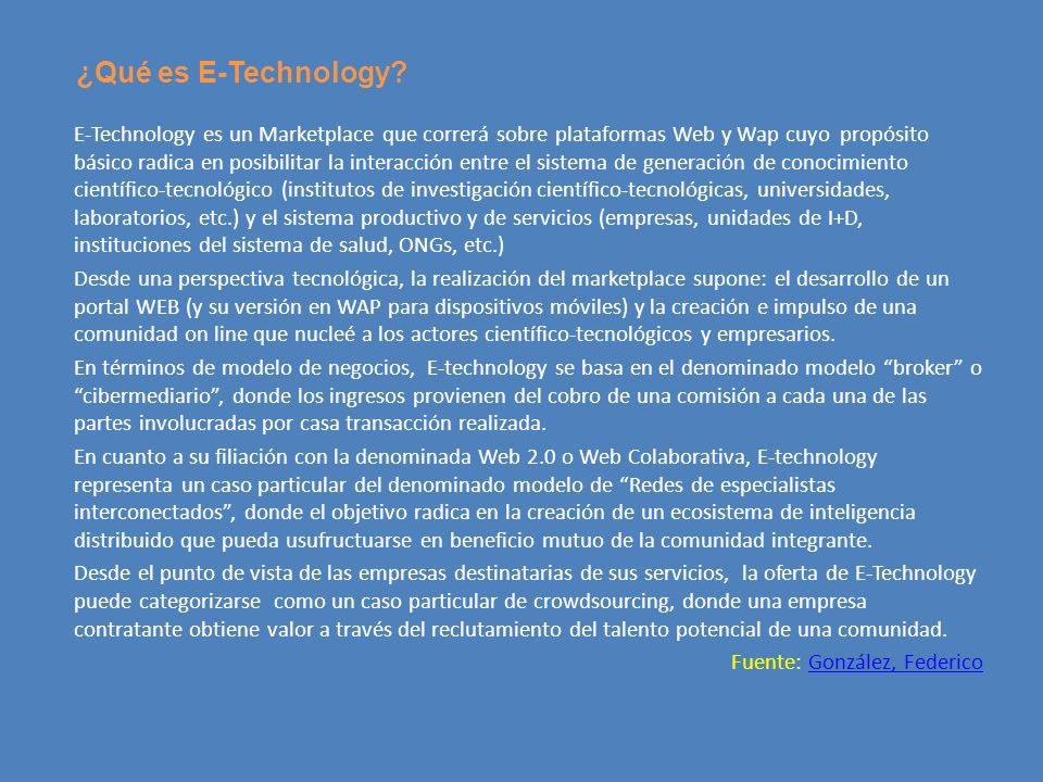¿Qué es E-Technology