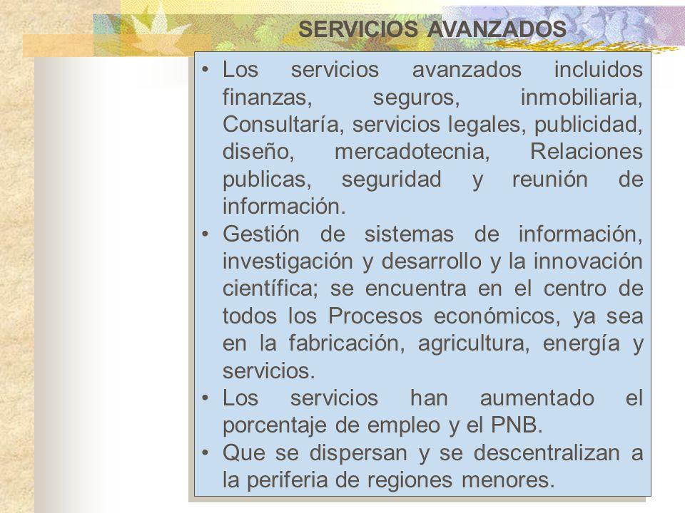 SERVICIOS AVANZADOS