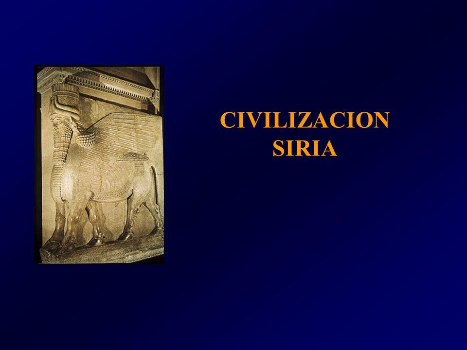 CIVILIZACION SIRIA