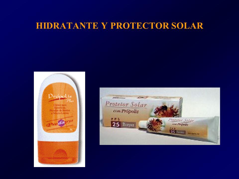 HIDRATANTE Y PROTECTOR SOLAR