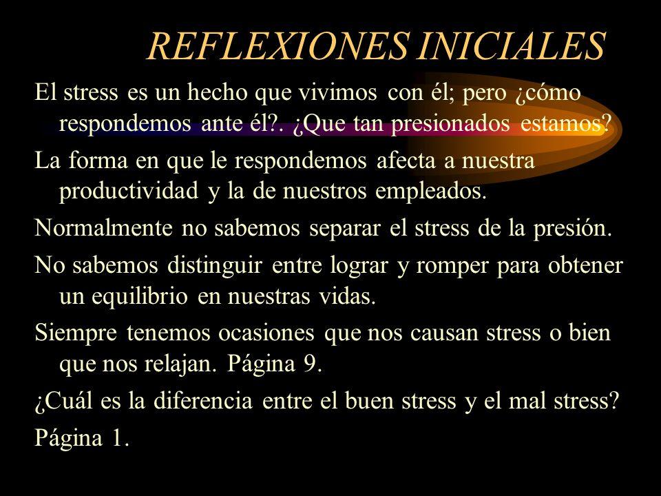 REFLEXIONES INICIALES
