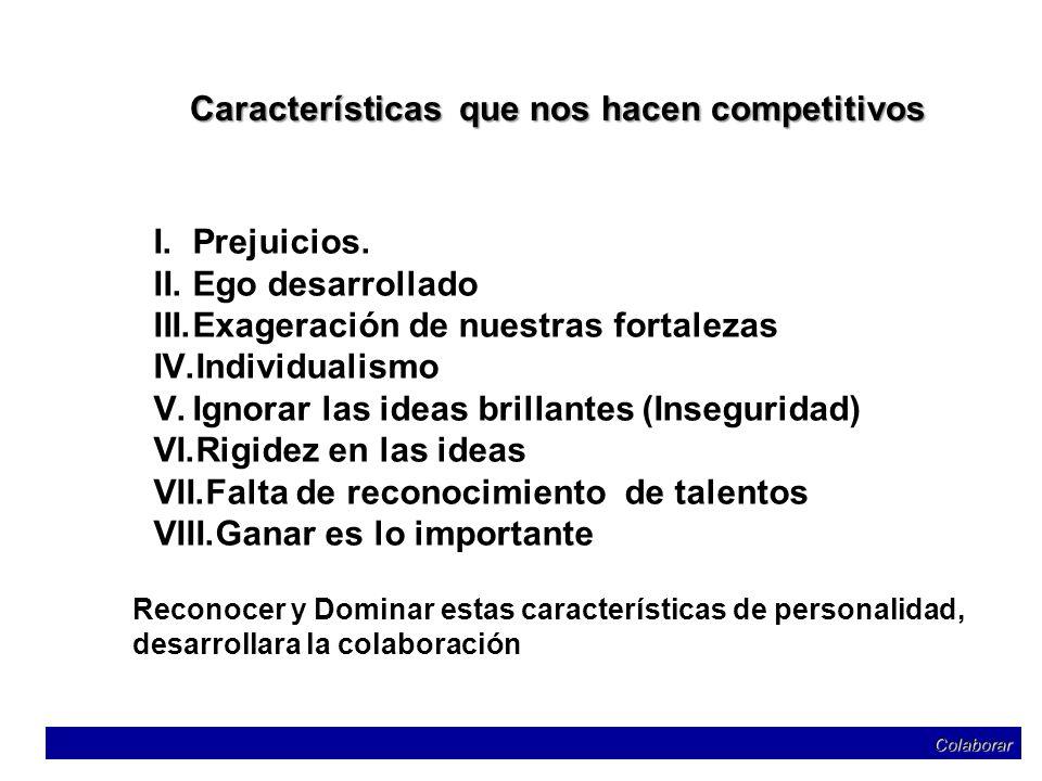 Características que nos hacen competitivos