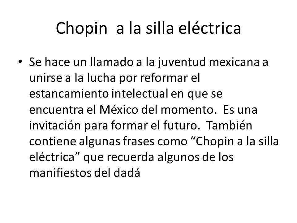 Chopin a la silla eléctrica