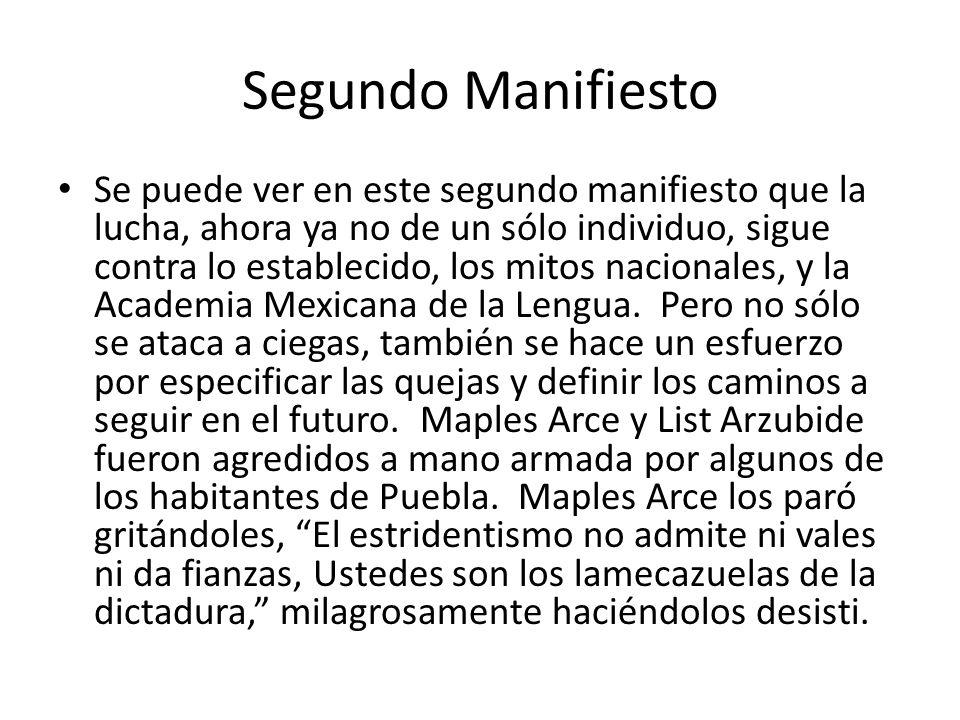 Segundo Manifiesto